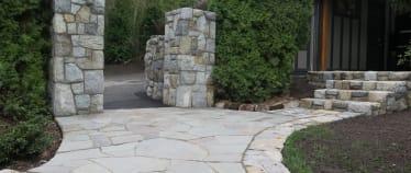 Victoria Landscaping- Stone Mason - Masonry  - Slate Path