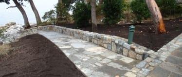 Landscaping Victoria Masonry - stone path