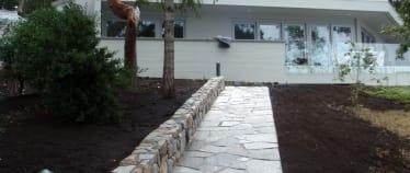 Landscaping Stonework masonry Wall